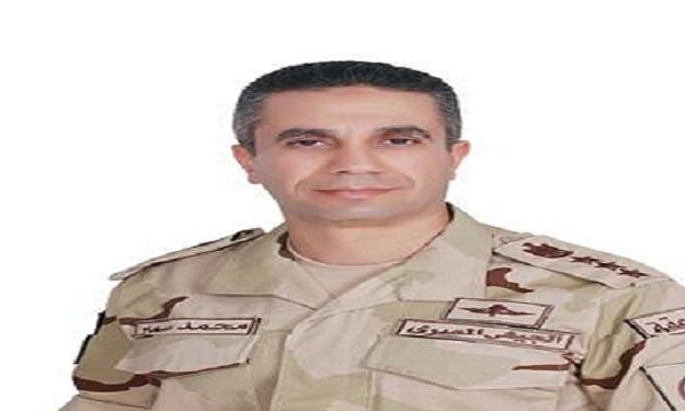 المتحدث العسكرى ينعى استشهاد ضابط صف بالقوات المسلحة فى الشيخ زويد