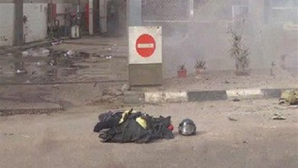 استشهاد أمين شرطة وإصابة 3 فى انفجار أعلى كوبرى 15 مايو