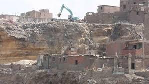 سقوط صخرة منشأة ناصر.. إخلاء 70منزلًا أنقذ الأهالى من الكارثة.. رئيس الوزراء ومحافظ القاهرة يتفقدان المنطقة