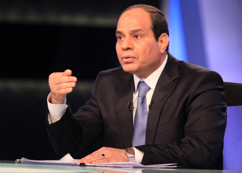 السيسي: لا يوجد هناك لقاء مقرر مع الشيخ تميم بن حمد أمير دولة قطر، سننتظر ونرى