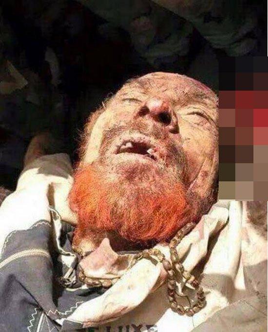 أول صور عزة الدورى نائب الرئيس العراقى الأسبق صدام حسين بعد مقتله