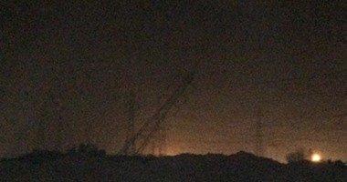 انقطاع بث القنوات الفضائية بسبب تفجير برج كهرباء