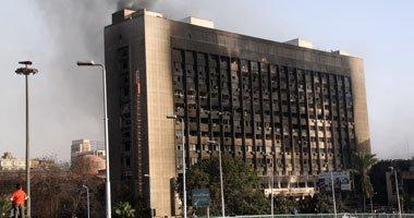 الحكومة ..هدم مبنى الحزب الوطنى المنحل بميدان التحرير