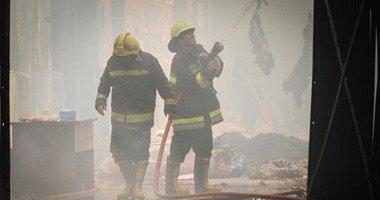 الحريق الذي اندلع بمخزن مصلحة الجمارك فى شارع السبتية، كان متزامنا مع بدء لجنة الجرد
