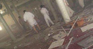وزارة الداخلية السعودية: تفجير إرهابى استهدف مسجد الإمام علي بحزام ناسف أثناء صلاة الجمعة