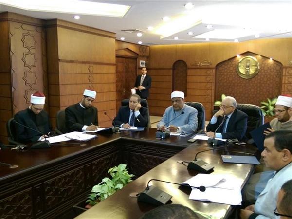 انتهاء أعمال لجنة تشكيل فريق تطوير منظومة عمل الوافدين بمجمع البحوث الإسلامية
