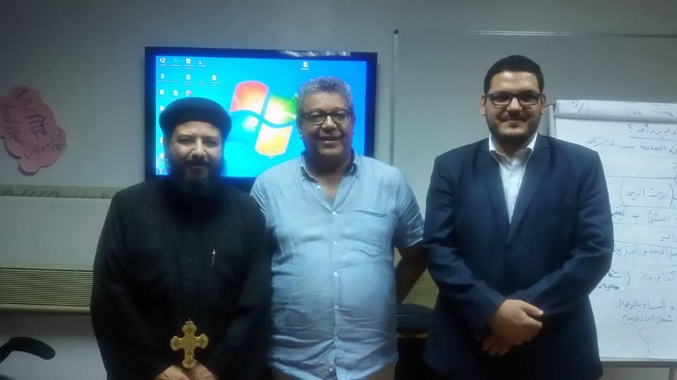 """عقد ورشة تدريبية عن حوار الأديان لشباب الباحثين  بـ """"الأمديست"""""""