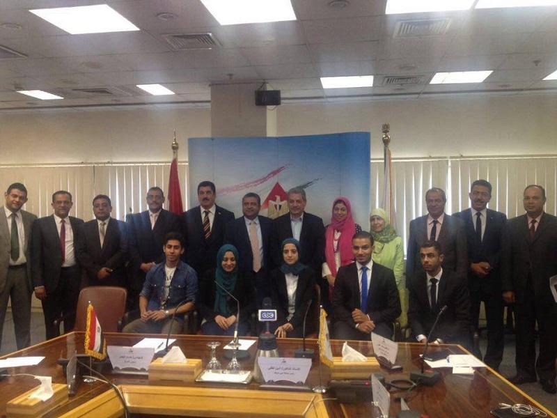 توقيع بروتوكول تعاون بين جامعة بني سويف و مركز معلومات مجلس الوزراء