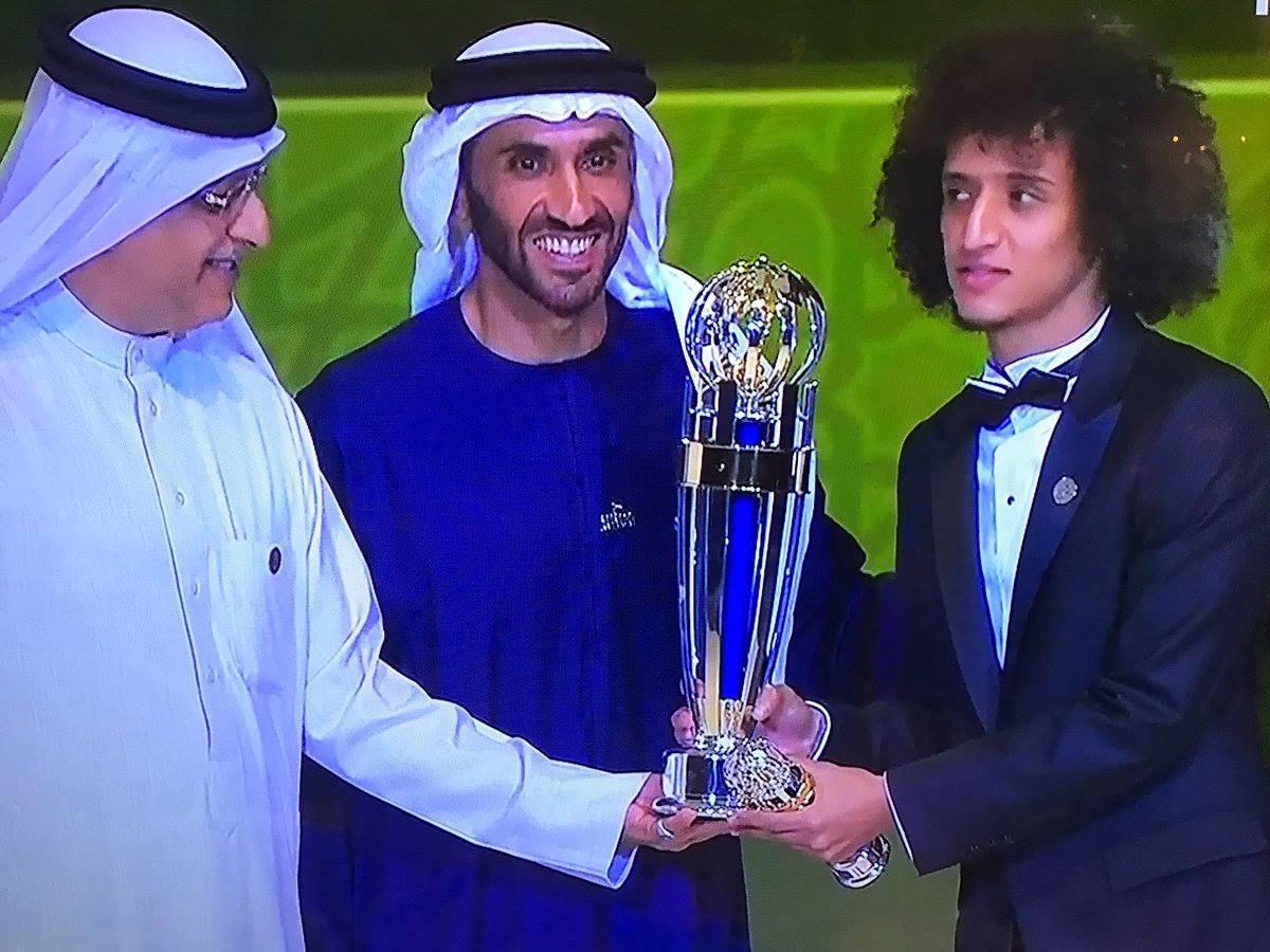 عموري أفضل لاعب كرة قدم في آسيا