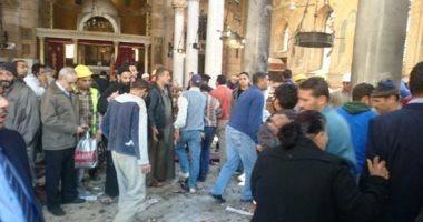 أسماء المتوفين فى انفجار كاتدرائية العباسية بمستشفى الدمرداش
