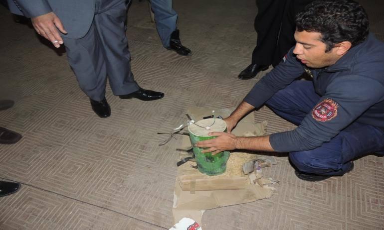 أحباط عملية إرهابية بسيارة مفخخة في فيصل