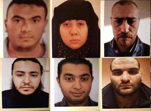 حبس 4 إرهابيين بينهم سيدة 15 يوما لاتهامهم بتفجير الكنيسة البطرسية