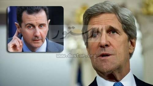 """كيري: الأسد يقوم بـ""""مذبحة"""" في حلب"""