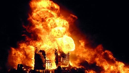 اشعال النيران فى مصلى للنساء بفرنسا