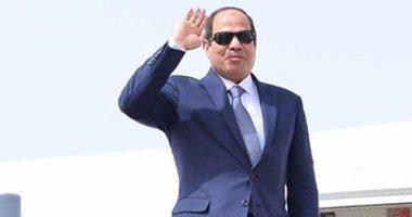 وصول فخامة الرئيس لأرض الوطن قادما من الامارات