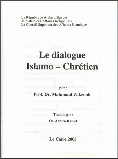 Islamisch-christlichen Dialog