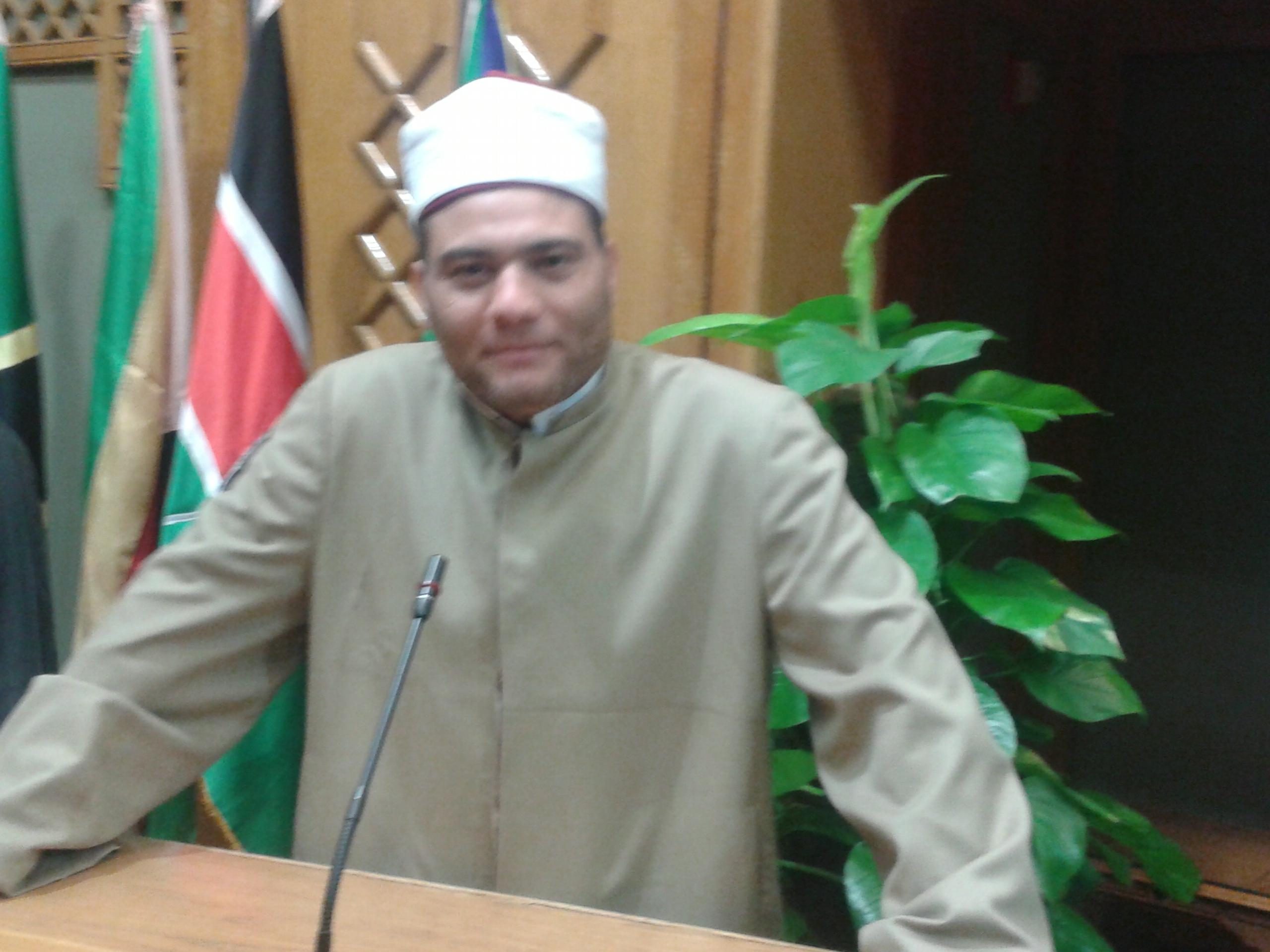 الدكتور أحمد رمضان ، خطبة الجمعة القادمة