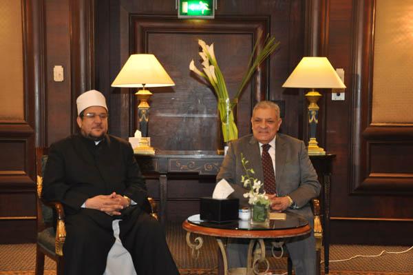 نقل 2370 فدان من هيئة الإصلاح الزراعي  إلى هيئة الأوقاف بمحافظة كفر الشيخ