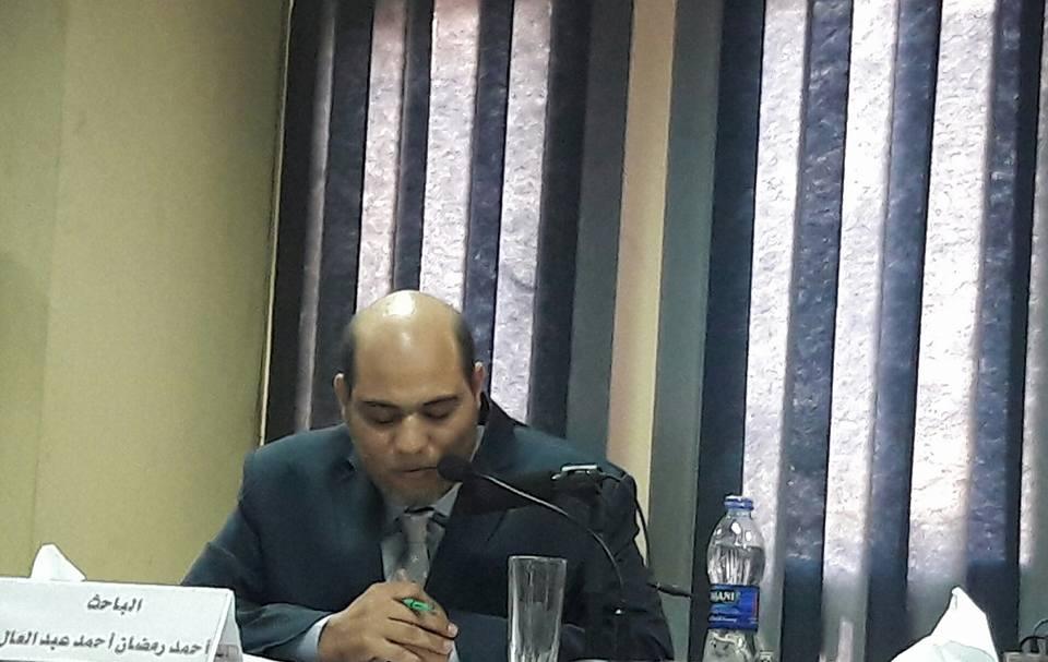 الدكتور أحمد رمضان من المحررين ورئيس التحرير ورئيس مجلس الإدارة بجريدة صوت الدعاة