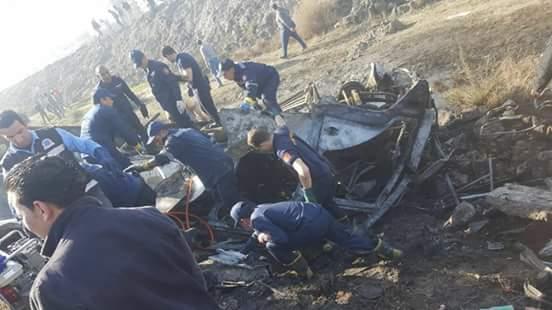 تفحم 12 عاملاً في احتراق أتوبيس بالطريق الساحلي بالإسكندرية