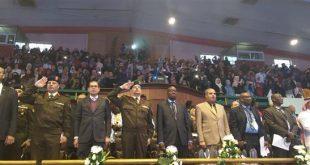 الأزهر الشريف ، فعاليات الأولمبياد الأول لشباب الجامعات الأفريقية ، الدول الإفريقية ، الرياضة ، كبار الدولة ، مشيخة الأزهر ، الإمام الأكبر