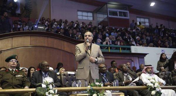 رئيس جامعة الأزهر ، تدشين فعاليات الأولمبياد الأول لشباب الجامعات الأفريقية في جامعة الأزهر ، عيد لمصر وأفريقيا ، الرياضة ، السيسي